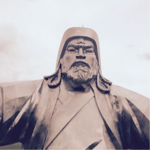 Genghis Statue 2